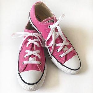 Converse Bubblegum Pink Sneakers